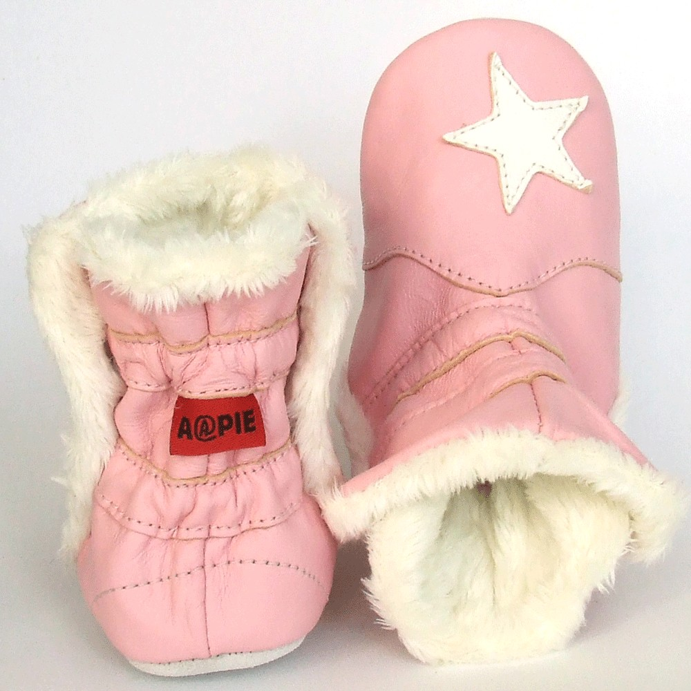 Winterboot Star Pink