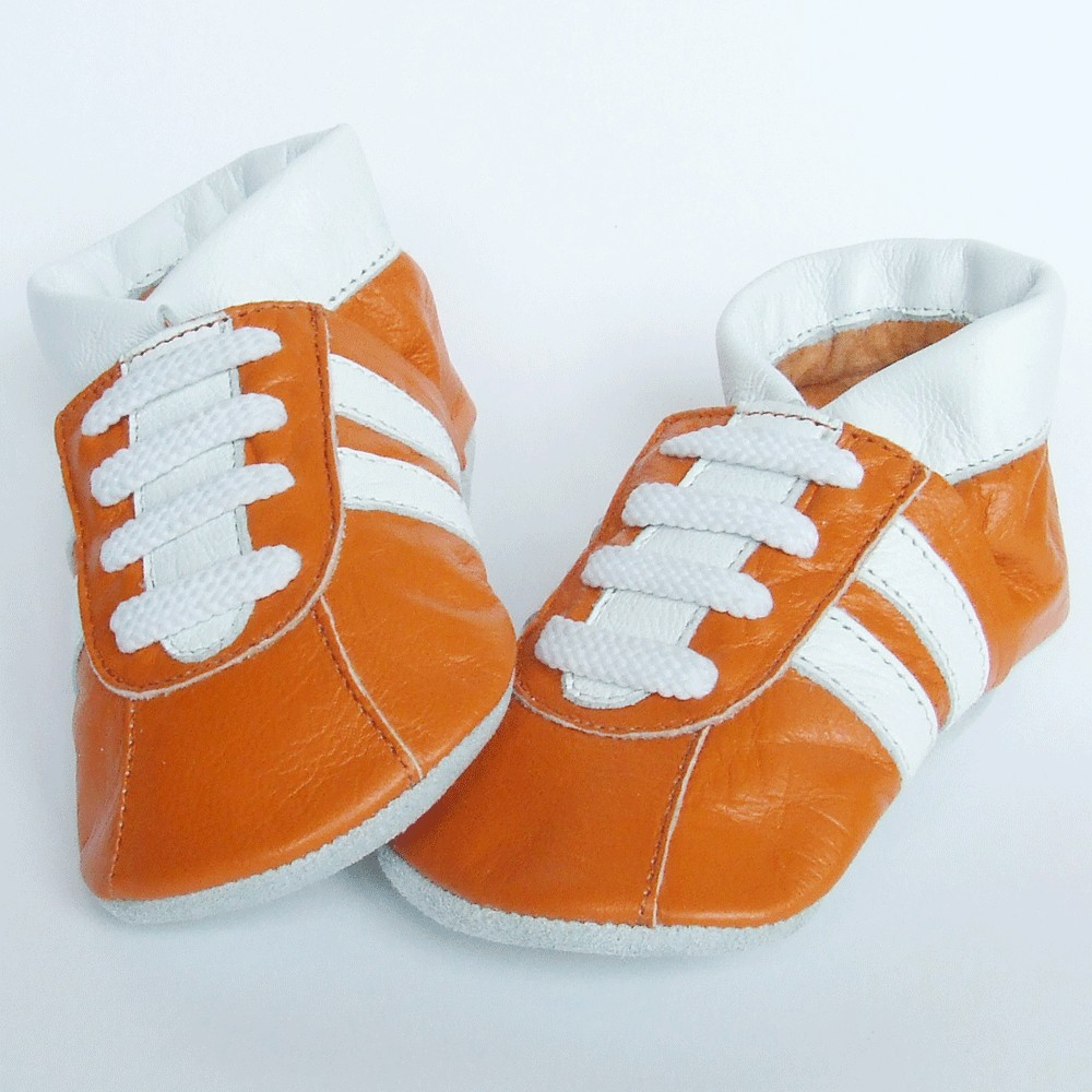 Sneaker Orange Aapie, Babyschoenen