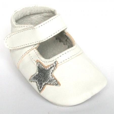 Babyslofjes Blossom Star White €19,49