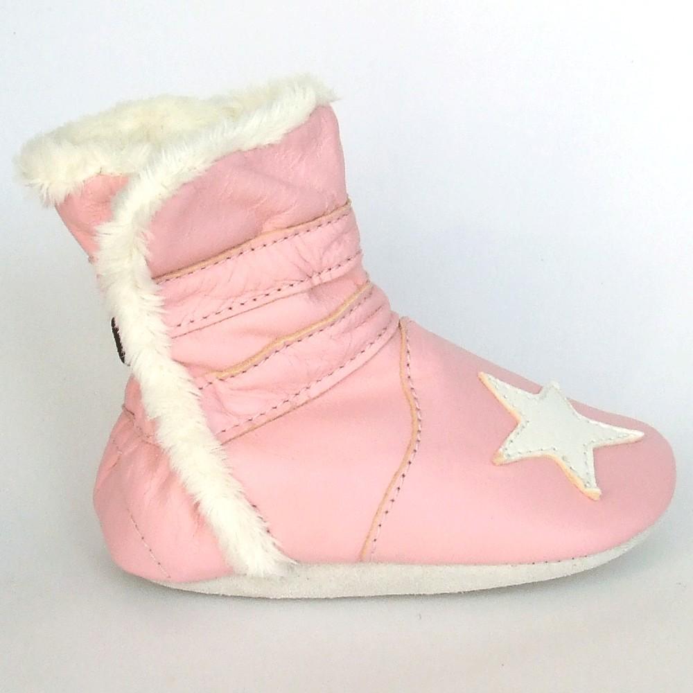 Winterboot Star Pink
