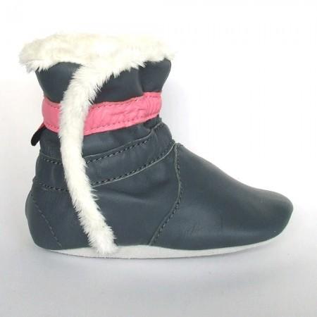 Babyslofjes Winterboot Stone Pink €20,99