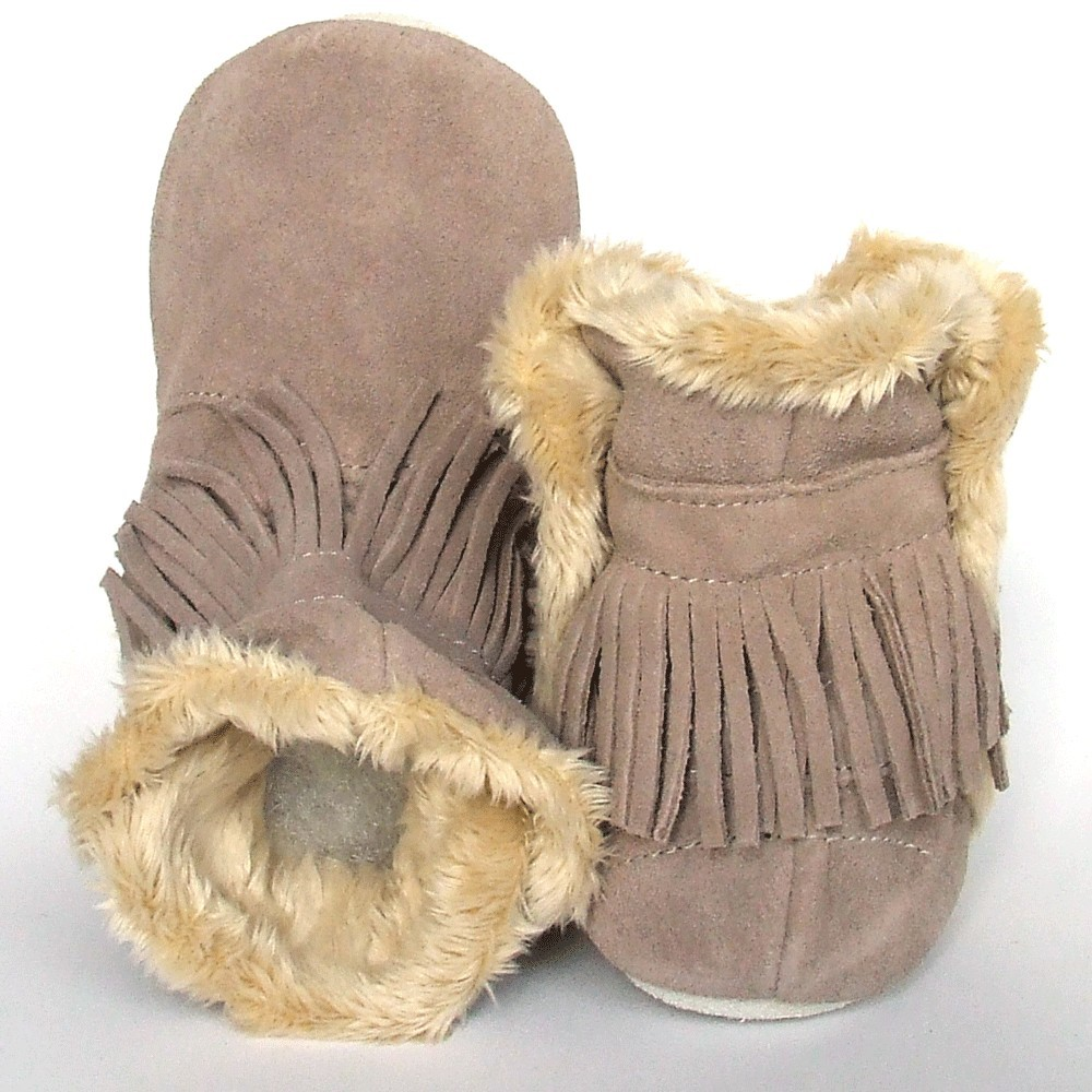 Babyslofjes Winterboot Indian Cognac € 22,99