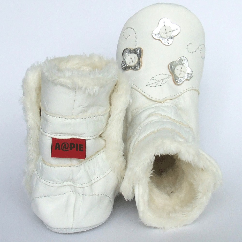 Winterboot Flower Silver