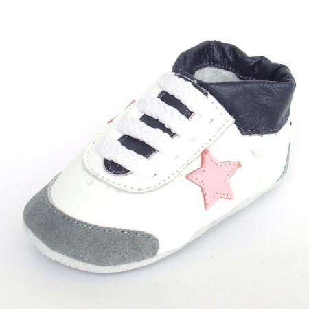 Babyslofjes Leren babyslofje Star Oslo €17,49