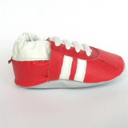 Babyslofjes Babyslofjes leer Sport Red €17,49