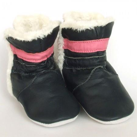 Babyslofjes Winterboot Marine Pink €20,99
