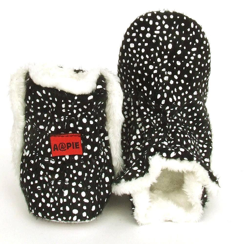Babyslofjes Winterboot Black Mamba €19,99