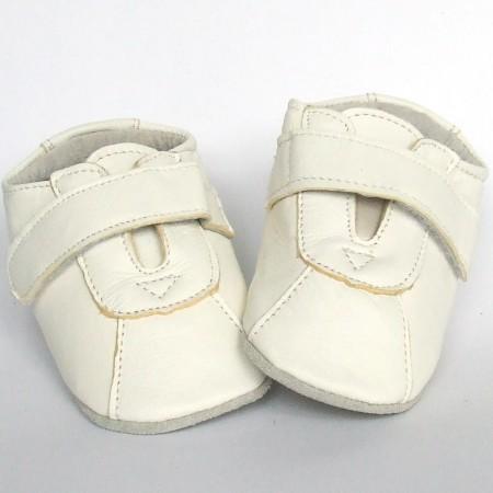 Babyslofjes Babyschoentjes leer Classic White €17,99