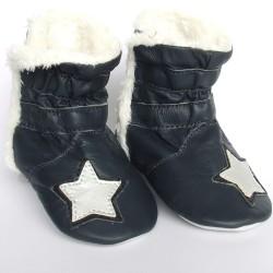 Babyslofjes Winterboot Star Marine €22,99