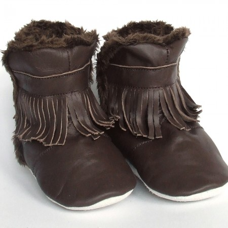 Babyslofjes Winterboot Indian Brown € 22,99