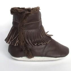 Babyslofjes Winterboot Indian Brown €22,99