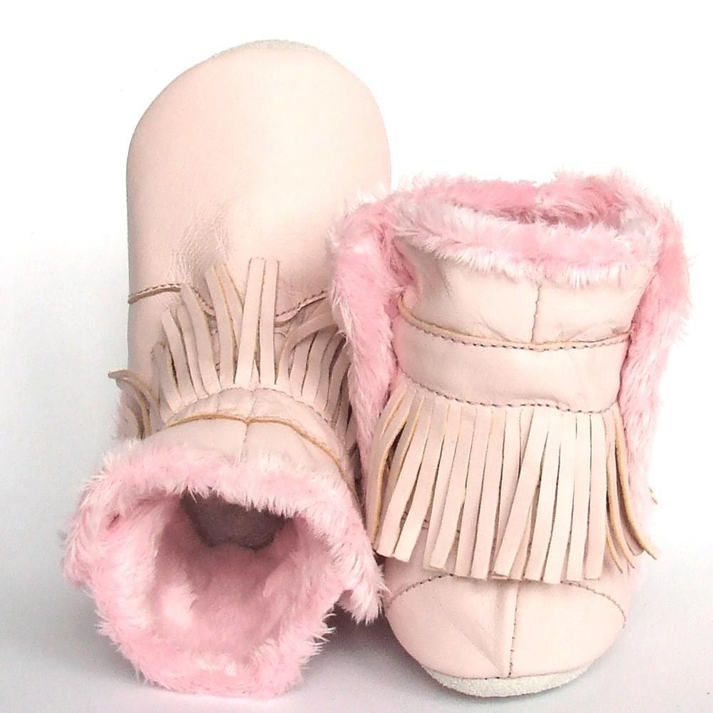 Babyslofjes Winterboot Indian Pink €22,99