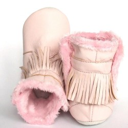 Babyslofjes Winterboot Indian Pink € 22,99