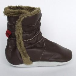 Babyslofjes Winterboot Brown €20,99