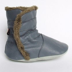 Babyslofjes Winterboot Grey € 20,99
