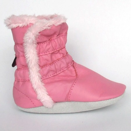 Babyslofjes Winterboot Sweet Pink € 20,99