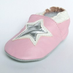 Babyslofjes Star Pink €15,99