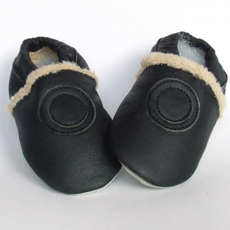 Babyslofjes Black Fur €19,99