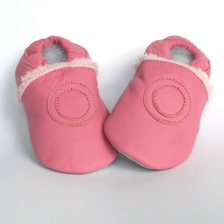 Babyslofjes Pink Fur €19,99