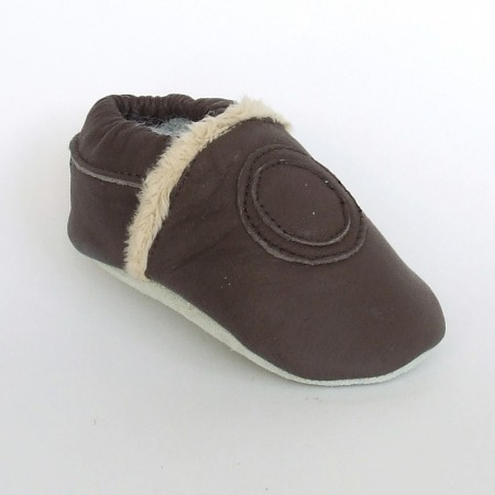 Babyslofjes Brown Fur € 19,99