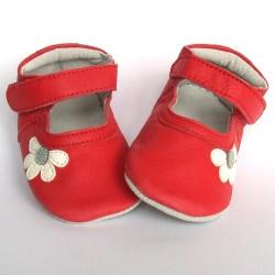Babyslofjes Blossom Red €19,49