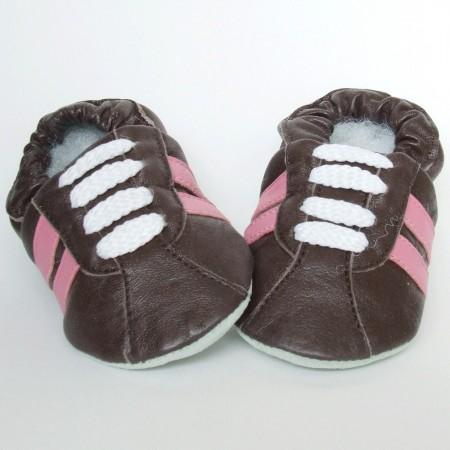 Babyslofjes Retro Choco Pink €15,99