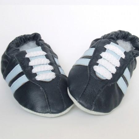 Babyslofjes Retro Marine Blue €15,99