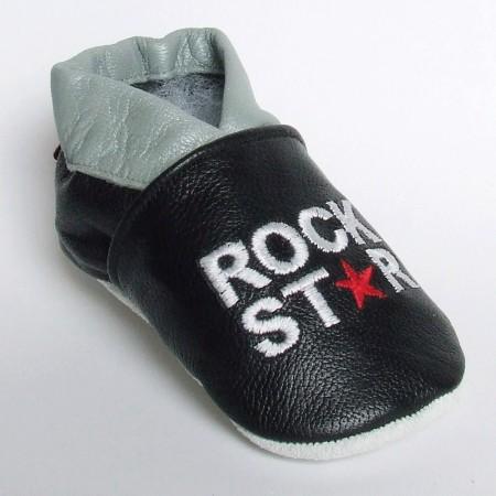 Babyslofjes Rockstar Black €16,99