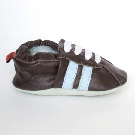 Babyslofjes Retro Choco Blue €15,99