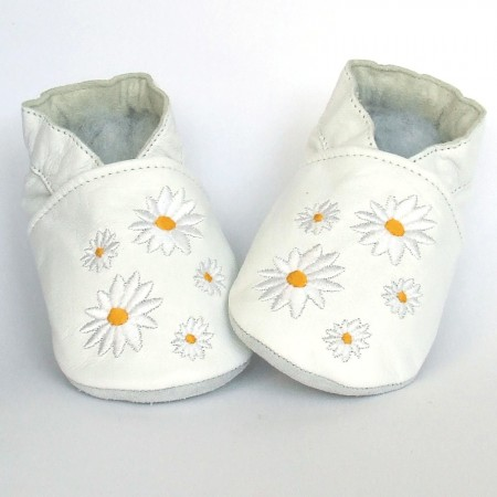 Babyslofjes Flower White € 16,49