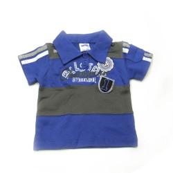 Babykleding 2 delig pakje 'Champion' blauw €14,95