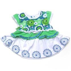 Babykleding 2 delig pakje 'Fancy Flowers' €14,95