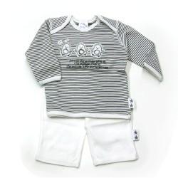 Babykleding 2-delig pakje 'Love all animals' €14,95