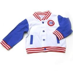 Babykleding 3 delig pakje 'Portland' blauw/wit €24,95