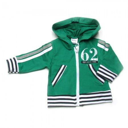 Babykleding 3 delig pakje 'Salvage' groen/grijs €24,95