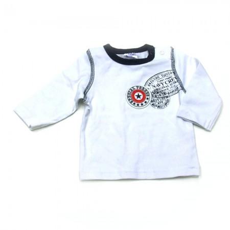 Babykleding 3 delig pakje 'Special forces' blauw/wit €24,95