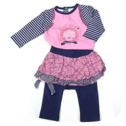 Babykleding 3 delig pakje 'VIP Club' €24,95