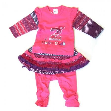 Babykleding 3 delig setje 'Cutie Club' €22,50