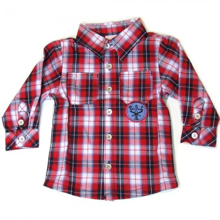 Babykleding Blouse 'Team USA' € 14,99