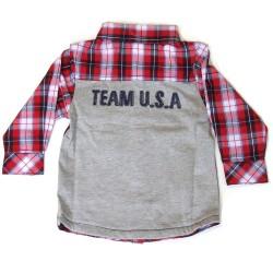 Babykleding Blouse 'Team USA' €14,99