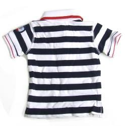 Babykleding Jongens polo 'Cruising' navy €9,95