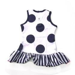 Babykleding Jurkje 'Girls with Flair' blauw €14,95