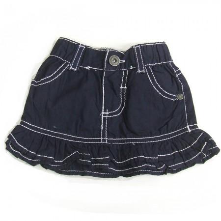 Babykleding Meisjes rokje 'White Stitch' €12,50