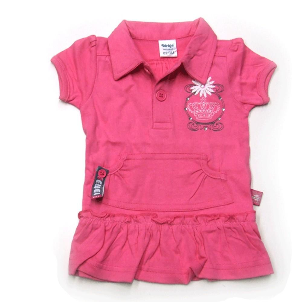 Babykleding Polo 'Crown jewel' rose €9,95
