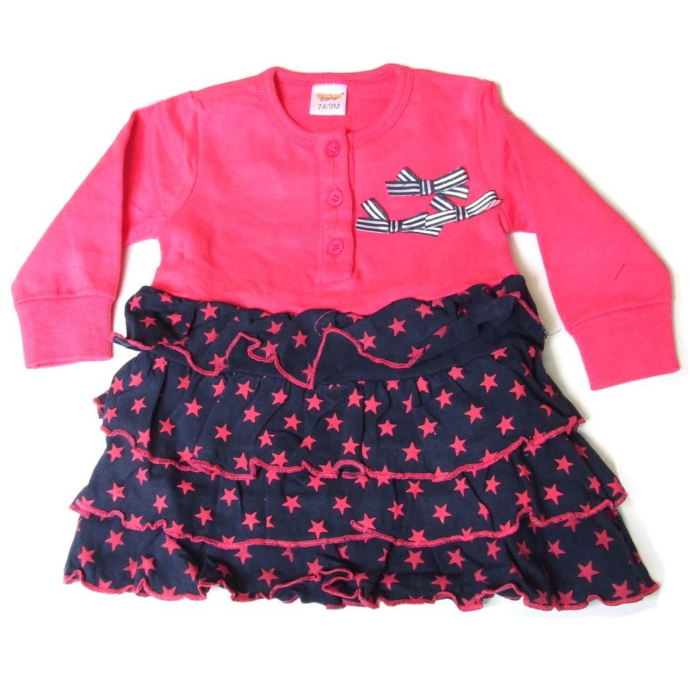 Star Dress - pink upper