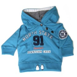 Babykleding Sweater '91' blue €14,99