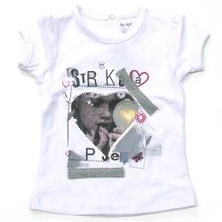 Babykleding T-shirt girls 'Strike a Pose' €8,95