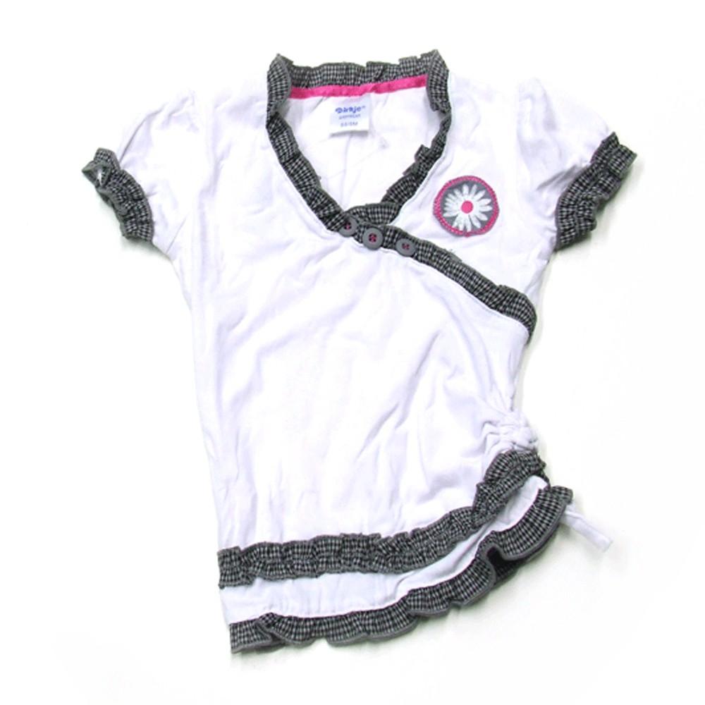 V-hals t-shirt 'Crown jewel'