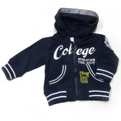 Babykleding Vestje 'College' Donkerblauw €14,95