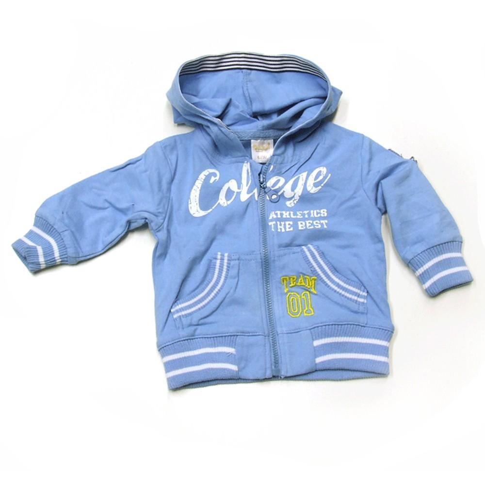 Babykleding Vestje 'College' lichtblauw €14,95